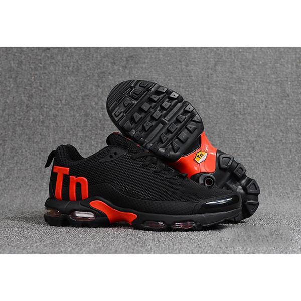 Arancione nero Mens Mercurial Scarpe da corsa Chaussures TN uomo scarpe da basket all'aperto Zapatillas uomo Hombre Designer Sneakers Eur40-46F
