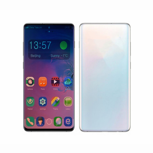 Goophone 10Plus 10 plus 6.3inch 1GB RAM 8GB ROM 3G WCDMA Show 4G LTE Mobilephone WIFI Bluetooth Dual Sim Débloqué Smartphone