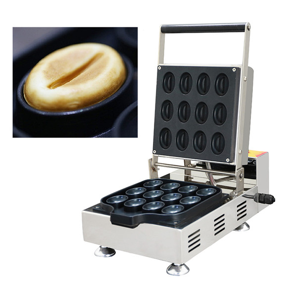 Macchina per caffè Waffle Maker 110v 220v per uso commerciale Macchina per waffle manuale per mini-uova