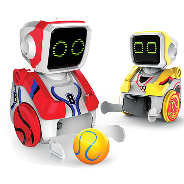 Silverlit Remote Soccer Robot Multifunctional Electric Control Robot Kickabot Twin Pack+Accessories Kids Boy Holiday Gift Set 06