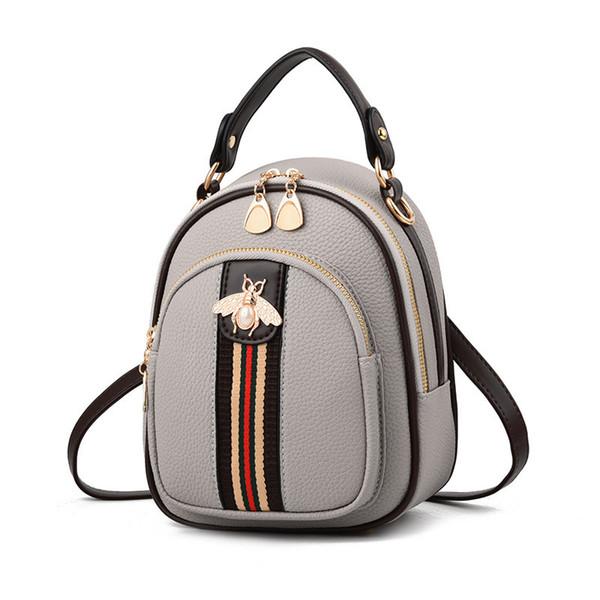 2018 Shoulder Crossbody Bags For Women Leather Luxury Handbags Women Bags Designer Bee Summer Small Ladies Hand Bags Sac