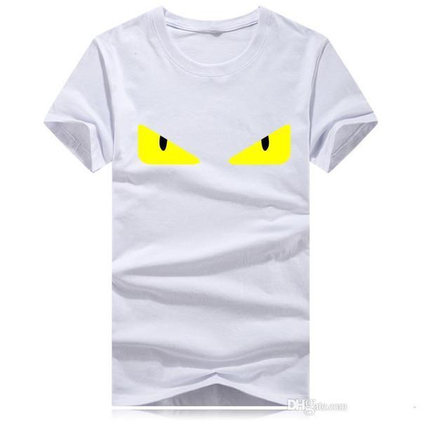 Verão designer de moda de alta qualidade marca T-shirt de algodão de lazer de luxo padrão T-shirt de manga curta Rua dos homens bordados, os homens'