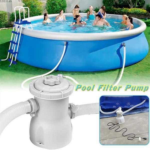 2019 Electric Filter Pump Swimming Pool Filter Pump Water Clean Clear Dirty  Pool Pond Pumps Filter/Swimming Water Cleaner From Kuaigoubian, $53.72 | ...