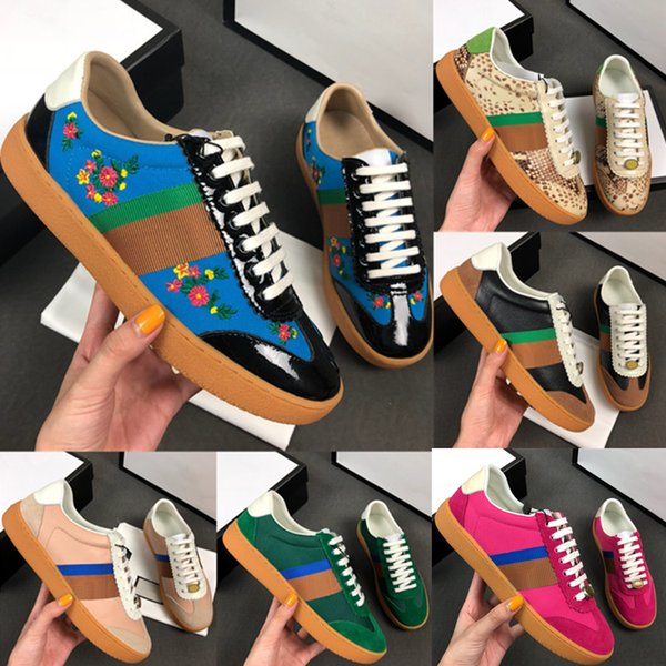 24eda220 7 colores de calidad superior zapatos de diseñador de lujo para mujer  clásico hombre y mujer
