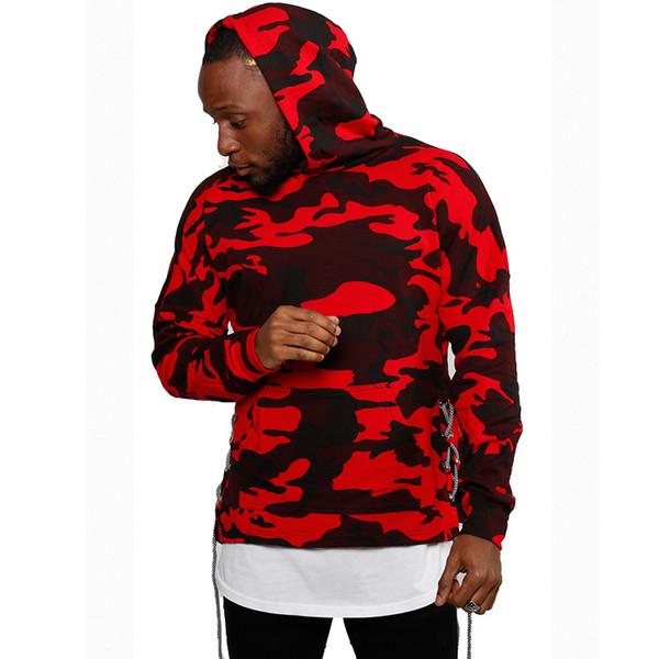 Hommes Designer Hoodies Camo camouflage côté tissage outillage chandail hommes lâche oversize pull à capuche pull hommes et femmes hoodies