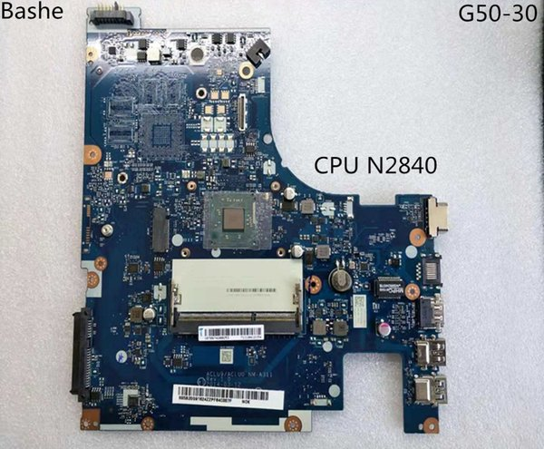 Brandneuer aclu9 / NM - aclu0 A311 Laptop Motherboard Lenovo Laptop mit n2840 G50 - 30 CPU (Intel CPU 100% Test)