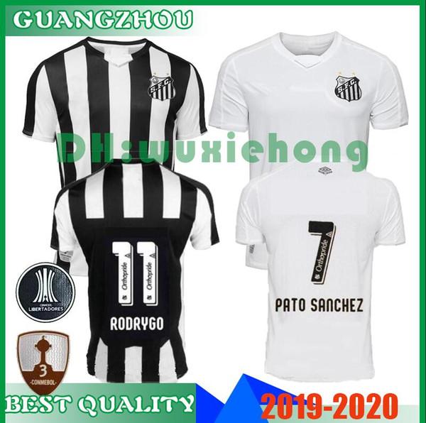 2019 2020 Maglia da calcio Santos FC qualità 19 20 Santos home away Maglia da calcio Gabriel RODRYGO DODO RENATO SASHA maglietta da calcio S-XXL