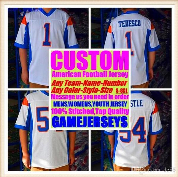 Camisas de futebol americano personalizado Detroit Búfalo faculdade autêntica retro rugby futebol basquete hóquei de basquete jersey 4xl 5xl 6xl loja