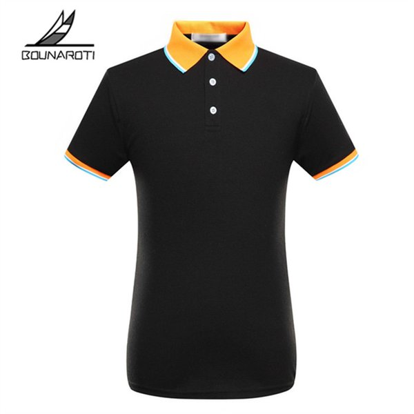 Top Solid Regular Cotton Polo Brand Abbigliamento New Polo uomo Business manica corta da uomo traspirante S -3xl