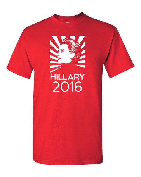 HILLARY CLINTON FOR PRESIDENT 2016 Le tee-shirt pour hommes de Bill's Wife pour hommes 1117