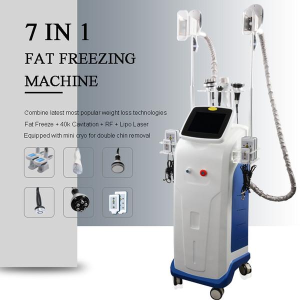 Одобренный CE cryolipolysis тучная замерзая липосакция кавитация ультразвука машины потери веса RF для кожи затягивает лазер LiPo уменьшая прибор