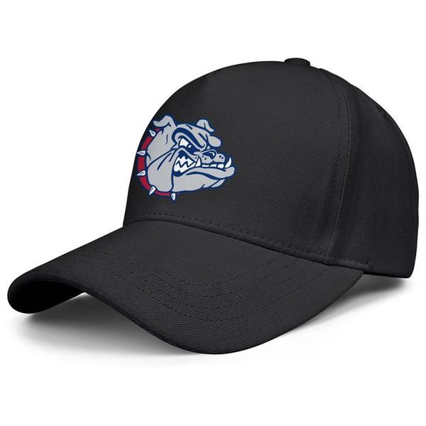 Gonzaga Bulldogs Basketbol logo tasarım Erkekler Kadınlar snapback Ayarlanabilir kamyon şoförü kap sevimli Güneş topu şapka Açık siyah