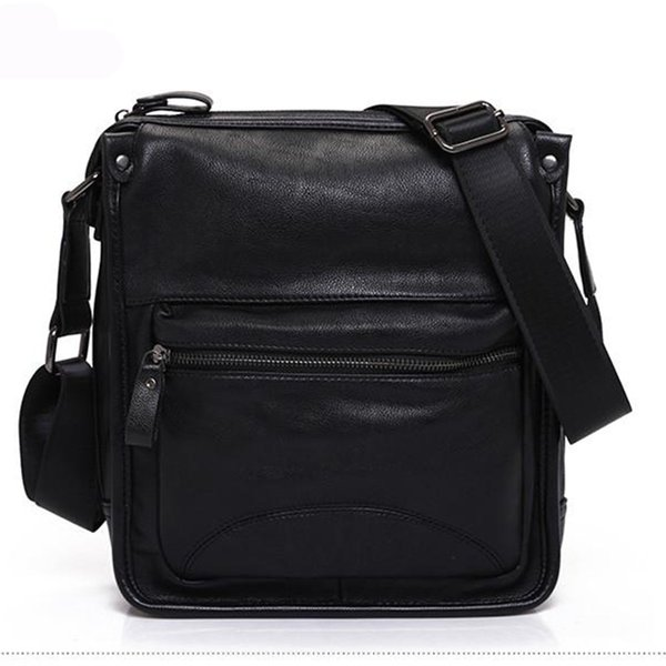 Business Style Designer Crossbody Bag PU Leather Messenger Bag Men Office Worker Designer Bag Briefcases New Arrival