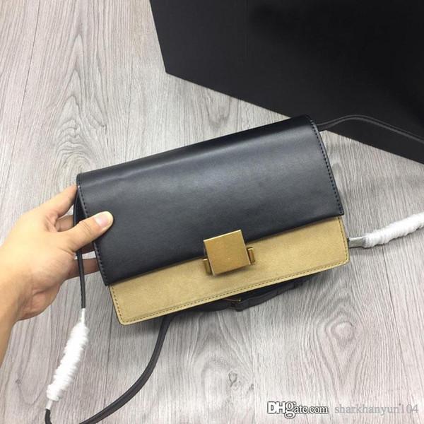 Новая модная женская дизайнерская сумка на одно плечо из натуральной кожи производства большой емкости с высококачественной лимитированной сумочкой NB: 483606 +4
