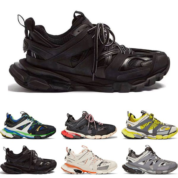 balenciaga  Top Designer Release 3.0 Tess S Paris Track Herren Gomma Maille Für Damen Triple S Sport Sneaker Freizeitschuhe Authentic Größe 35-45