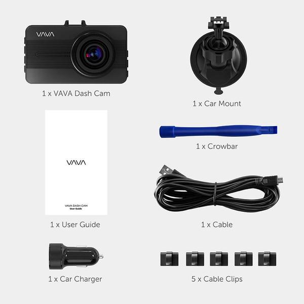 In Car 1080P Full HD On Dash Camera DVR Camcorder VCR Video Recorder 16GB Card