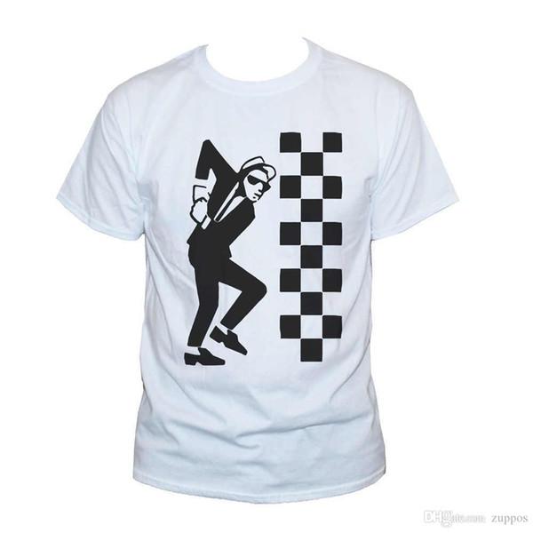 New Fashion Style Design T Shirt SKA DUDE TWO TONE T Shirt The Specials Reggae Unisex Tee SIZES S M L XL XXL Lady Short Sleeve T