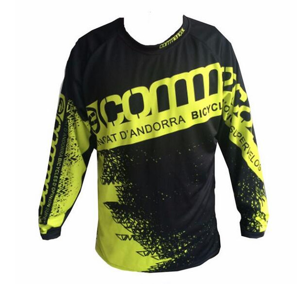 2019 Speed Mountain run shirt Riding Jersey Equipment Surrender Commencal Watchdog Speed Dry Riding Off-road Long Sleeved