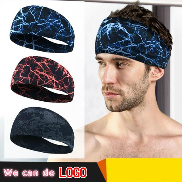 best selling Custom Sport Hair band Headband Yoga Gym Hair Bands Anti-slip Headbands Elastic Headbands Outdoor Running Sweatbands