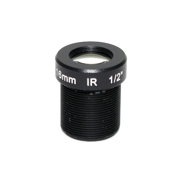 16mm 20 Degree Angle Fixed CCTV lens IR mount Board Camera lens