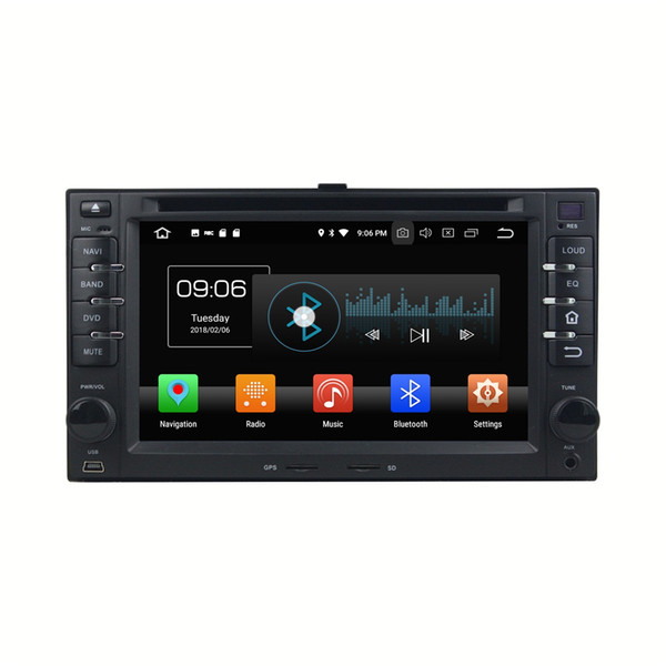 "4GB+32GB Octa Core 2 din 6.2"" Android 8.0 Car dvd Radio GPS for Kia Cerato Sportage Ceed Sorento Spectra Optima Rondo Rio Sedona Carens"