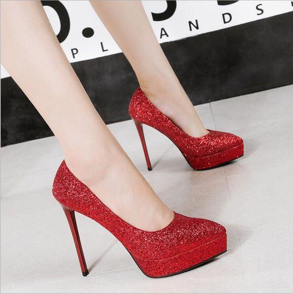 información para 88cce a7c4c Compre Marca Sandalias Stiletto Mujeres Tacones Rojos Fetish Tacones Altos  Zapatos De Boda Diseñador Talones Señoras Ocasiones Inteligentes Fiesta ...