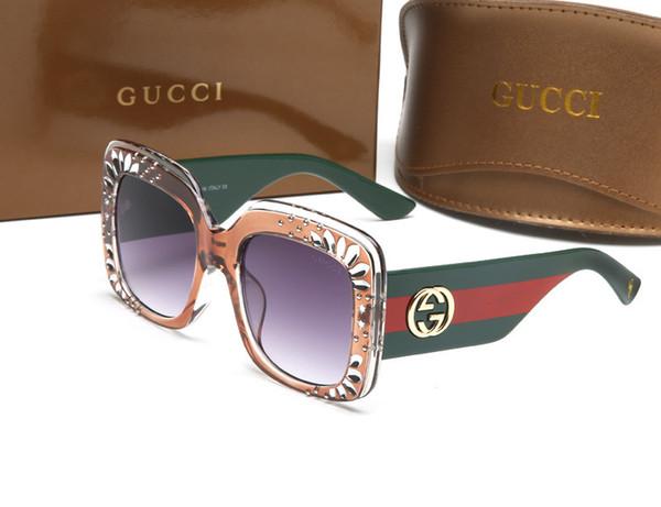 Luxury Square Sunglasses Women Italy Brand Designer Diamond Sun glasses Ladies Vintage Oversized Shades Female Eyewear