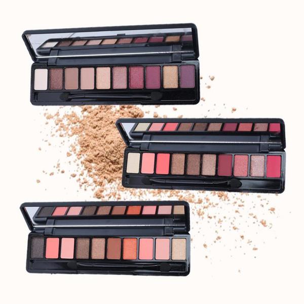 Fashion eyeshadow palette 10Colors Matte EyeShadow naked palette Glitter eye shadow MakeUp Nude MakeUp set Korea Cosmetics 40