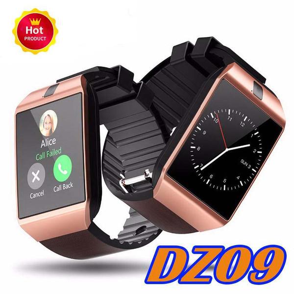 Dz09 bluetooth smart watch wirstband android akıllı smartwatch sim kart iphone 5 6 perakende paketi ile samsung s8