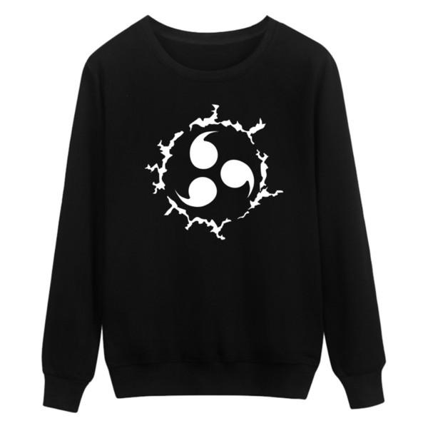 2019 Naruto Capless Sweatshirt Men Cotton Classic Japanese Cartoon Anime Men's Hoodies Streetwear Casual 4xl Clothes