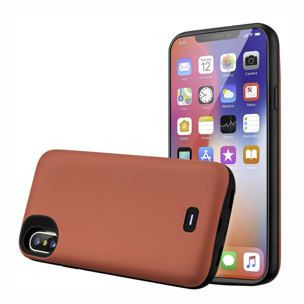 External Power Power Bank Battery Case Rechargeable Battery Portable Power Charger Protective Charging Case Audio for iPhone X XS 5000mAh