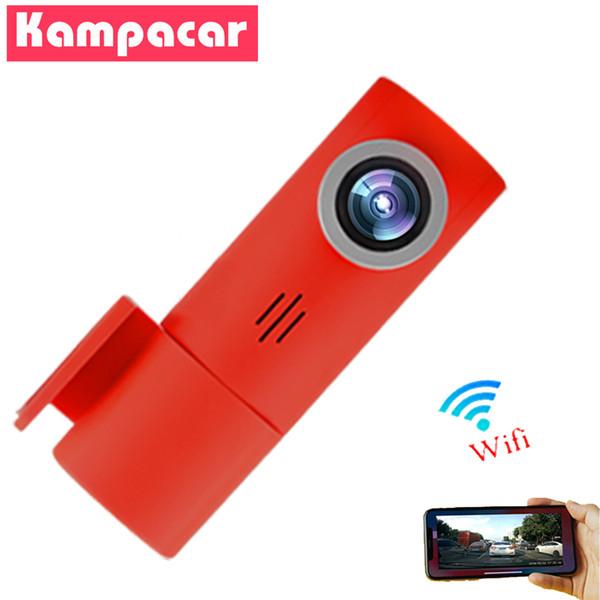 Kampacar WiFi DVR Rotation Novatek 96658 Sony IMX323 Car Dash Cam Full HD 1080p Nuit Version Driving Recorder enregistreurs vidéo numériques