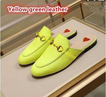 Cuir vert fluorescent
