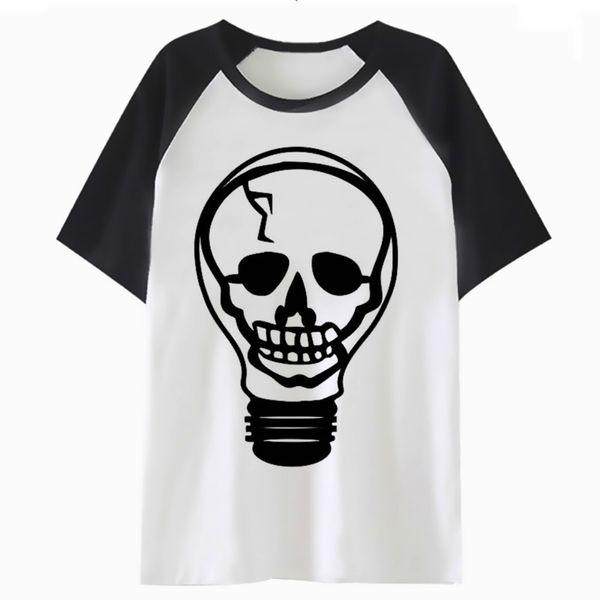 Bulb t shirt funny hop tee tshirt t-shirt harajuku men top hip for streetwear male clothing oF4117