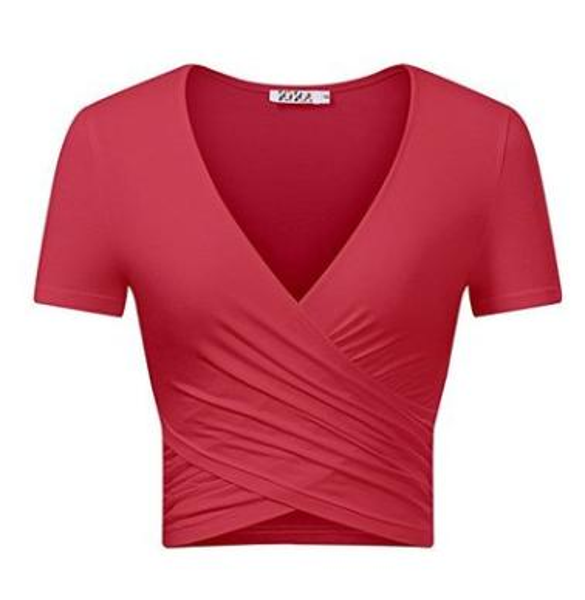 Fashion Summer new hot style women's t - shirts cross sleeve T shirt tops luxury decoration brand high quality lady T - shirt women cloth