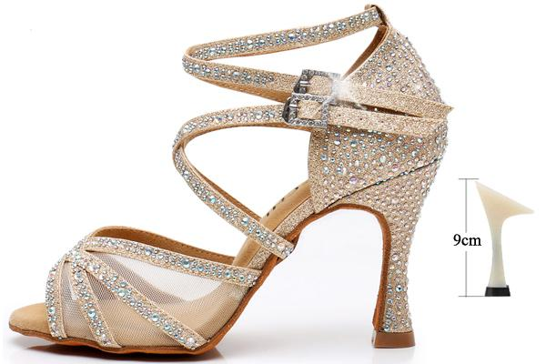 Gold Glitter 9cm