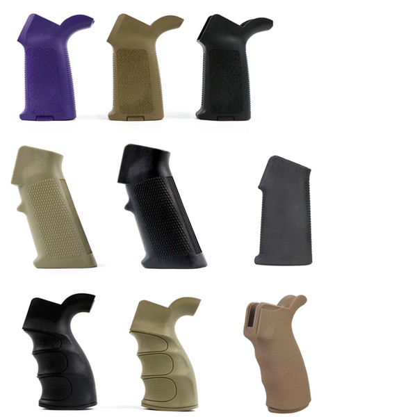 Impugnatura tattica ERGO per pistole giocattolo in nylon AEG modello Foregrip Fit Picatinny Rails BK DE