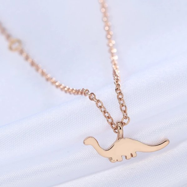 Animal Pendant Apatosaurus Dinosaur Necklace Charm necklace Jewelry Necklace For Women Girl Gift