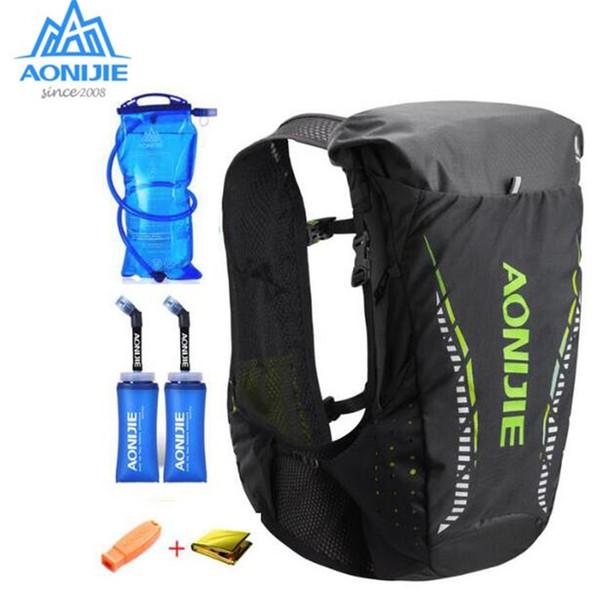 Aonijie ao ar livre leve ao ar livre 18l colete saco de esportes caminhadas camping correndo maratona corrida para 2l bexiga de água # 123382