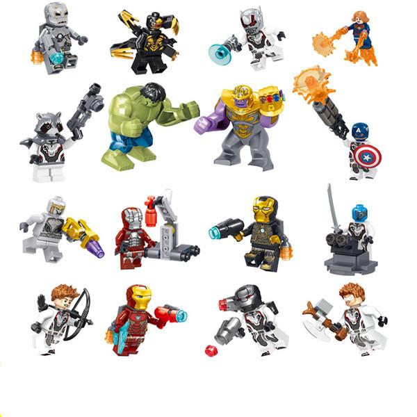 Vengadores 4 Bloques de construcción Figuras de Superhéroes Juguetes Juguetes de Joker mini Figuras de acción Ladrillos 34095