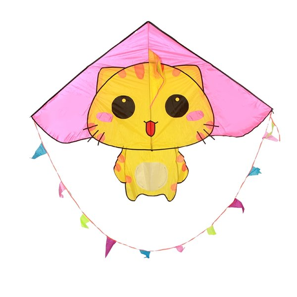 Weifang kite cat para niños little kite CC cat cartoon kite breeze fácil de volar principiante de alto grado 2019