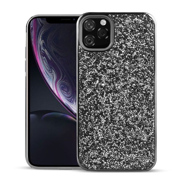 Bling 2 in 1 Luxury Diamond Rhinestone Giltter Phone Case For Iphone 11 Pro XR XS Max Samsung Note 10 Plus Back Cover