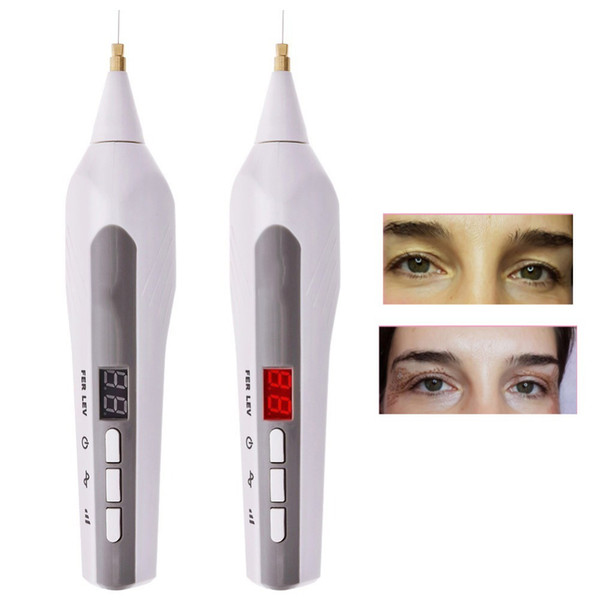 best selling 9-level LCD laser Plasma Pen for Eyelid Lift Wrinkle Spot Tattoo Mole Freckle Removal Beauty Machine Portable Beauty Tools