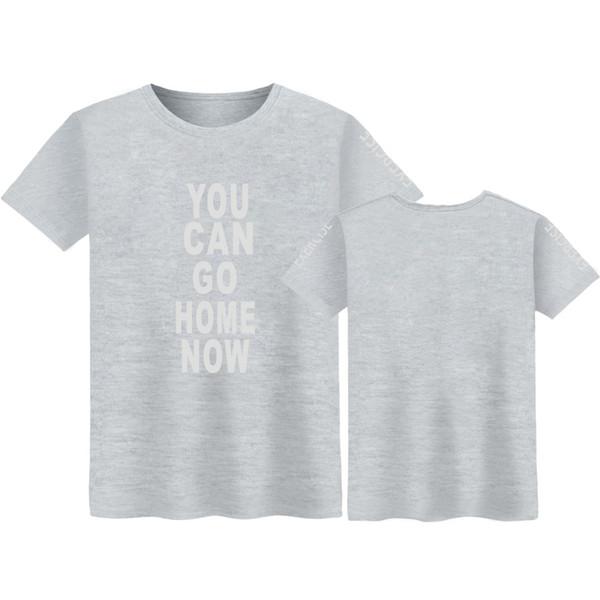 Теперь вы можете пойти домой Футболка мужская летняя мода футболка с круглым вырезом мужская хлопковая поп мягкая забавная футболка мужская удобная футболка T5190605
