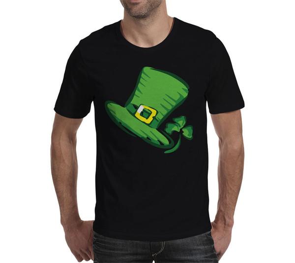 St. Saint Patricks Green Irish Leprechaun Top Hat S M L XL 2XL 3XL - unisex T Shirt