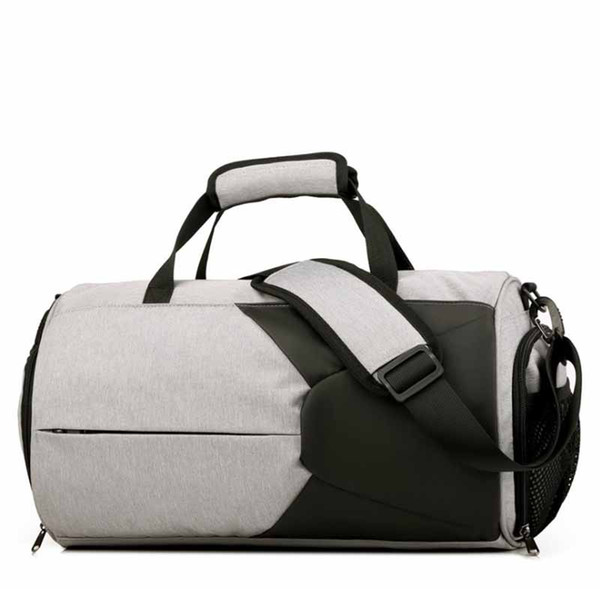 Brand fashion Fitness training sports bag man shoulder diagonal hand luggage travel bag woman outdoor swimming yoga equipment supplies