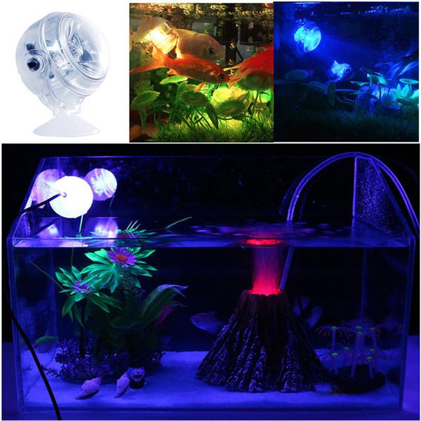 2019 Waterproof Led Light Multi Color Fish Tank Lamp Submersible Mini Aquarium Lights Bubble Aeration Disc Lighting F From Gor2don 39 45