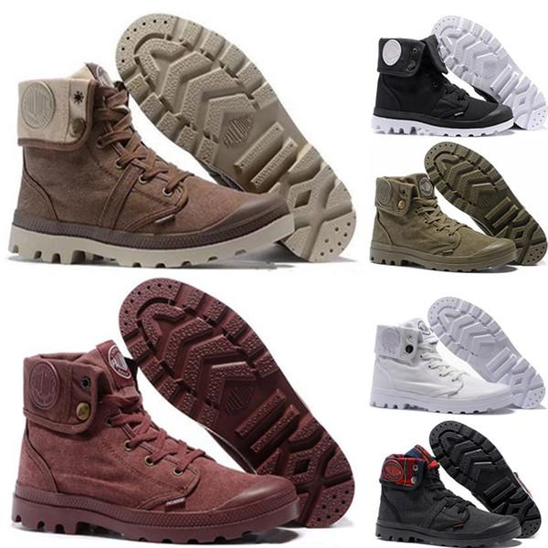 hur man köper billig försäljning Storbritannien butik Luxury Palladium Brand Boots Women Men Designer Sports Red White ...