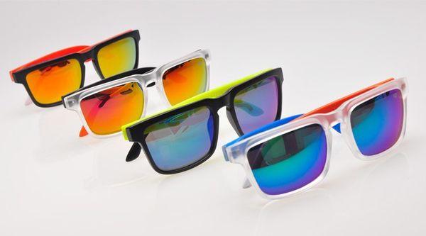 Luxo-News Brand Designer Spied Ken Bloco Capacete Sunglasses Moda Esportes óculos de Sol Oculos De Sol Óculos De Sol Eyeswearr Unisex De Vidro