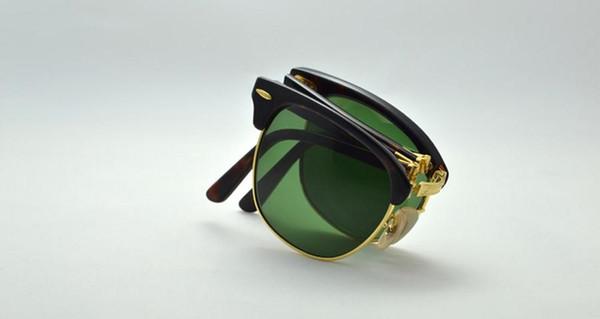 lente de cristal G15 marco de tortuga